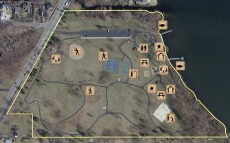 Lakeview Park Small Aerial Map