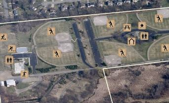 South Westnedge Park Small Aerial Map
